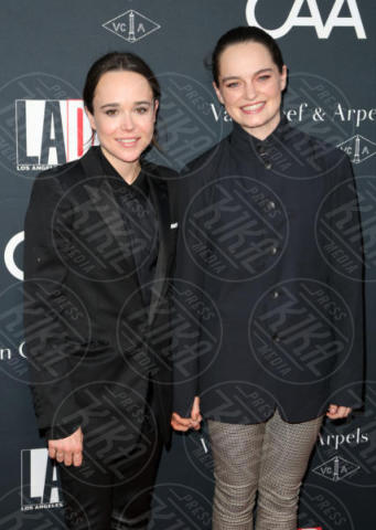 Emma Portner, Ellen Page - Los Angeles - 08-10-2017 - Chris Pratt difende la sua chiesa dalle accuse di Ellen Page