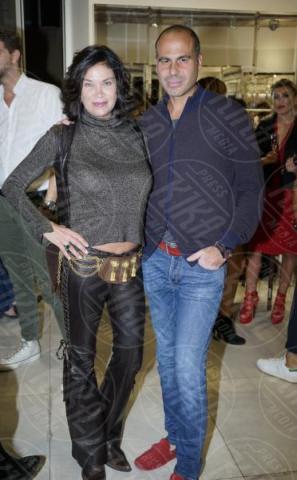 Luca Bielli, Demetra Hampton - Roma - 07-10-2017 - Shoppingandmore, tutte alla corte di Hoara Borselli