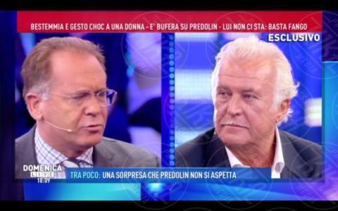 Marco Predolin, Alessandro Cecchi Paone - Roma - 09-10-2017 - GfVip2: Marco Predolin furioso da Barbara D'Urso. Ecco perché