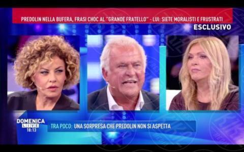Marco Predolin, Eva Grimaldi - Roma - 09-10-2017 - GfVip2: Marco Predolin furioso da Barbara D'Urso. Ecco perché