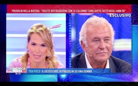Marco Predolin, Barbara D'Urso - Roma - 09-10-2017 - GfVip2: Marco Predolin furioso da Barbara D'Urso. Ecco perché
