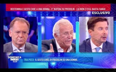 Marco Predolin, Riccardo Signoretti, Alessandro Cecchi Paone - Roma - 09-10-2017 - GfVip2: Marco Predolin furioso da Barbara D'Urso. Ecco perché