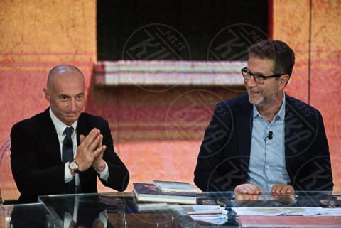 Fabio Fazio, Yuri Chechi - Milano - 09-10-2017 - Sospeso Che tempo che fa: ecco perché