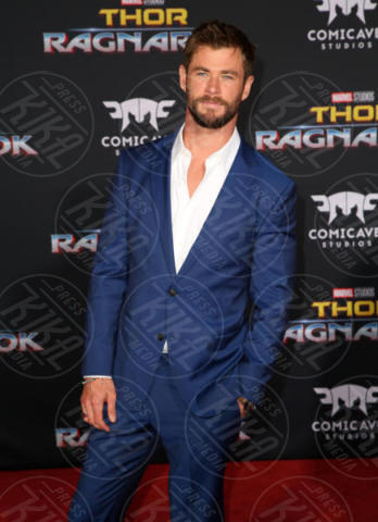 Chris Hemsworth - Los Angeles - 11-10-2017 - Chris Hemsworth, per Thor: Ragnarok il red carpet è in coppia!