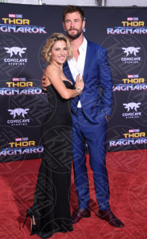 Chris Hemsworth, Elsa Pataky - Hollywood - 10-10-2017 - Chris Hemsworth, per Thor: Ragnarok il red carpet è in coppia!