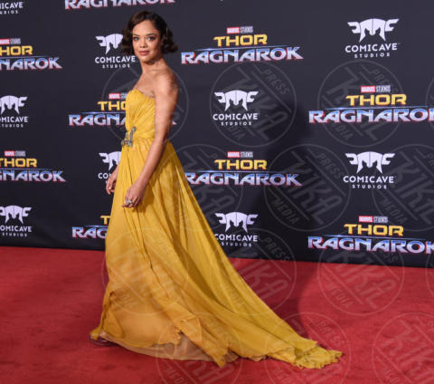 Tessa Thompson - Hollywood - 10-10-2017 - Chris Hemsworth, per Thor: Ragnarok il red carpet è in coppia!