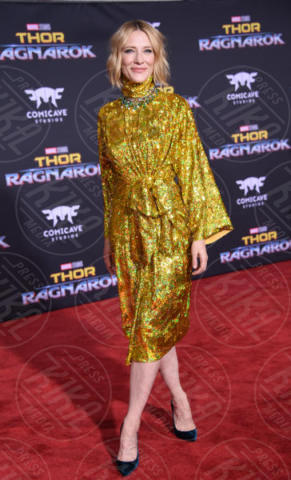 Cate Blanchett - Hollywood - 10-10-2017 - Chris Hemsworth, per Thor: Ragnarok il red carpet è in coppia!