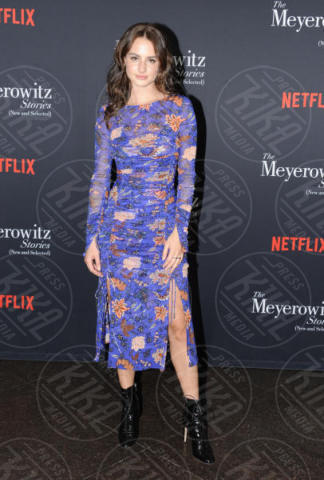 Grace Van Patten - Hollywood - 11-10-2017 - Adam Sandler, tranquillo: alla cravatta ci pensa Dustin Hoffman!