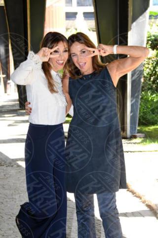 Benedetta Parodi, Cristina Parodi - Roma - 13-10-2017 - Benedetta Parodi e Domenica In: il colpo di scena