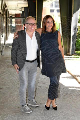 Marco Marzocca, Cristina Parodi - Roma - 13-10-2017 - Domenica In diventa Casa Parodi con Cristina e Benedetta!