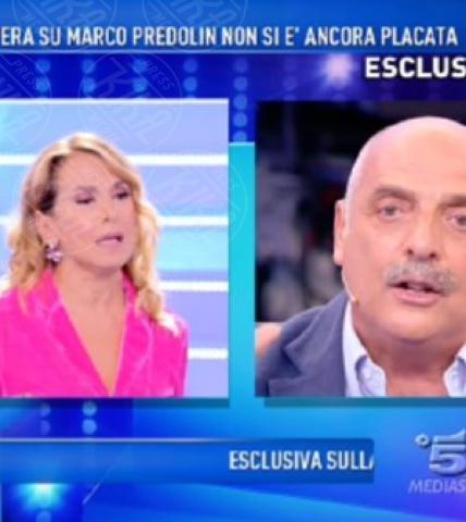 Barbara D'Urso, Paolo Brosio - Milano - Isola: Paolo Brosio vs Soleil Sorge, interviene la Marcuzzi