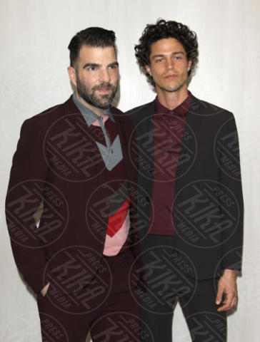 Miles McMillan, Zachary Quinto - Westwood - 14-10-2017 - Sarah Jessica Parker & Co.: quante star per Ava DuVernay