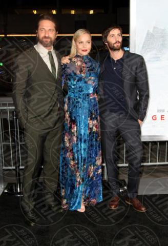 Jim Sturgess, Abbie Cornish, Gerard Butler - Los Angeles - 16-10-2017 - Gerard Butler e Abbie Cornish scatenano una tempesta a Hollywood