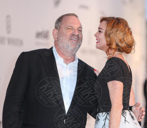 Lindsey Lohan, Harvey Weinstein, Lindsay Lohan - Cap D Antibes - 25-05-2017 - Scattano le manette per Harvey Weinstein: è la resa dei conti