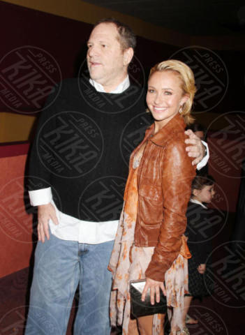 Harvey Weinstein, Hayden Panettiere - New York - 23-04-2011 - Scattano le manette per Harvey Weinstein: è la resa dei conti