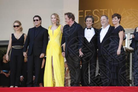 Harvey Weinstein, John Travolta, Quentin Tarantino, Uma Thurman - Cannes - 23-05-2014 - Scandalo Weinstein, la confessione shock di Quentin Tarantino