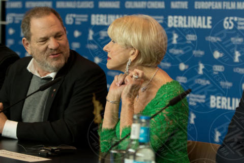 Harvey Weinstein, Helen Mirren - Berlino - 09-02-2015 - Scattano le manette per Harvey Weinstein: è la resa dei conti