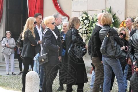 Funerali Franchino Tuzio, Lele Mora - Milano - 17-10-2017 - Le star italiane danno l'estremo saluto a Franchino Tuzio