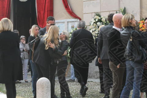 Funerali Franchino Tuzio, Marco Bacini, Federica Panicucci, Lele Mora - Milano - 17-10-2017 - Le star italiane danno l'estremo saluto a Franchino Tuzio