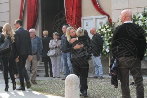 Funerali Franchino Tuzio, Marco Bacini, Federica Panicucci - Milano - 17-10-2017 - Le star italiane danno l'estremo saluto a Franchino Tuzio