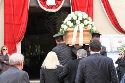 Funerali Franchino Tuzio - Milano - 17-10-2017 - Le star italiane danno l'estremo saluto a Franchino Tuzio