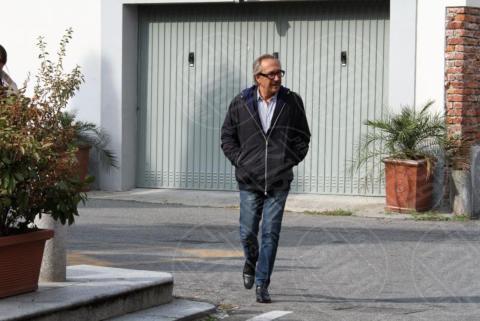 Funerali Franchino Tuzio, Marco Balestri - Milano - 17-10-2017 - Le star italiane danno l'estremo saluto a Franchino Tuzio
