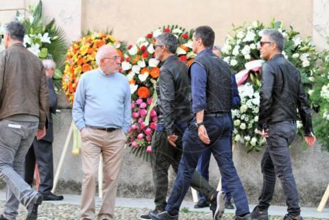 Funerali Franchino Tuzio, Rosario Fiorello - Milano - 17-10-2017 - Le star italiane danno l'estremo saluto a Franchino Tuzio