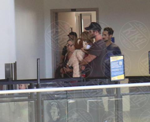 Luke Hemsworth, Leonie Hemsworth, India Hemsworth, Chris Hemsworth, Elsa Pataky - LA - 17-10-2017 - Chris Hemsworth, meglio il matrimonio che la carriera