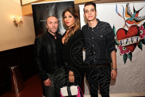 Andrea Grasso, Alessia Cinquegrana, Gianfranco Gallo - Napoli - 19-10-2017 - La prima trans italiana (convolata a nozze) debutta al cinema