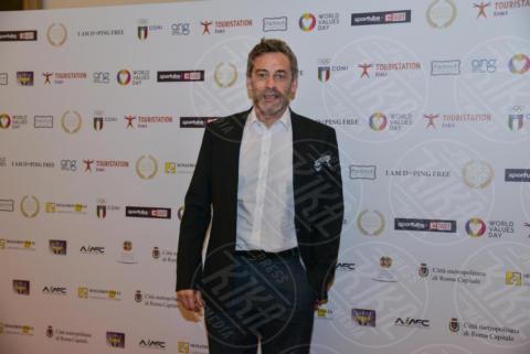 Massimo Poggio - Roma - 19-10-2017 - Sfilano le star con i valori agli Italians Values Awards