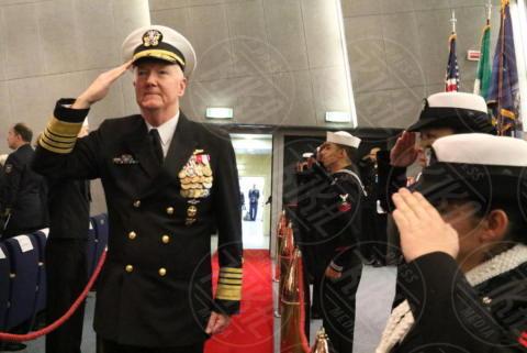 James G.Foggo III - Giugliano in Campania - 20-10-2017 - Comando Interforze di Napoli: cambio della guardia