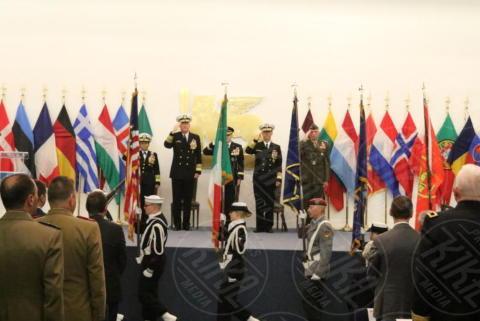 John. M.Richardson, James G.Foggo III - Giugliano in Campania - 20-10-2017 - Comando Interforze di Napoli: cambio della guardia