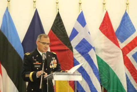 Curtis M.Scaparrotti - Giugliano in Campania - 20-10-2017 - Comando Interforze di Napoli: cambio della guardia