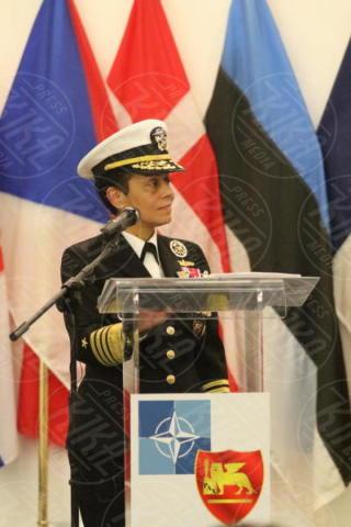 Michelle J. Howard - Giugliano in Campania - 20-10-2017 - Comando Interforze di Napoli: cambio della guardia