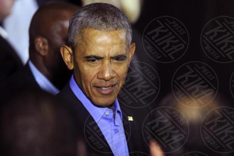 Barack Obama - Newark - 19-10-2017 - Fedez chiede un selfie a Obama in palestra, ecco la reazione