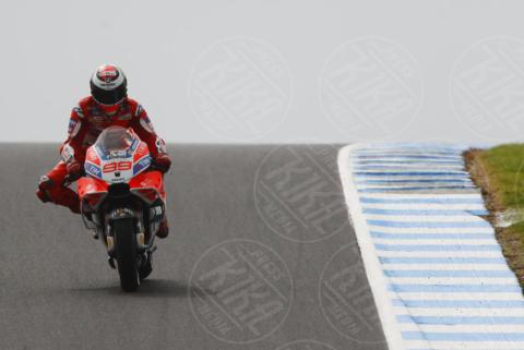 Jorge Lorenzo - Phillip Island - 21-10-2017 - Moto Gp: a Dovizioso tocca inseguire dalla 11esima posizione