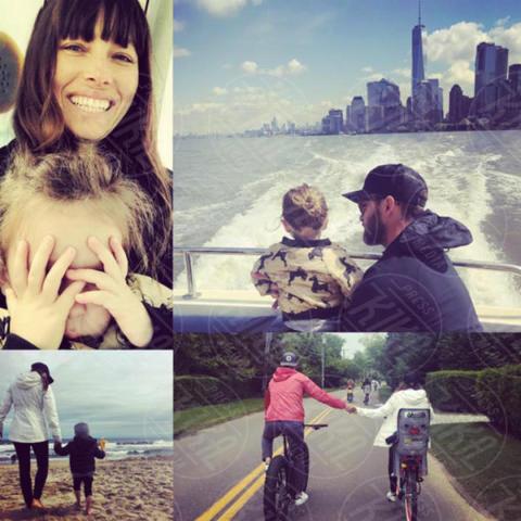 Silas Randall Timberlake, Jessica Biel, Justin Timberlake - Milano - 09-03-2017 - La commovente dedica di Justin Timberlake a Jessica Biel