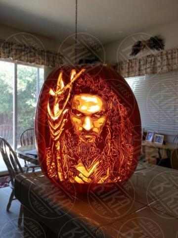 Aquaman, Alex Wer - 20-10-2017 - Alex Wer, il mago delle zucche intagliate di Halloween!