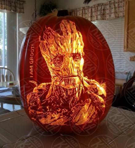 Alex Wer, Groot - 20-10-2017 - Alex Wer, il mago delle zucche intagliate di Halloween!