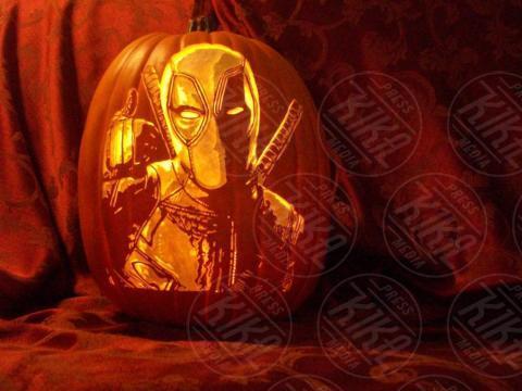 Alex Wer, Deadpool - 20-10-2017 - Alex Wer, il mago delle zucche intagliate di Halloween!
