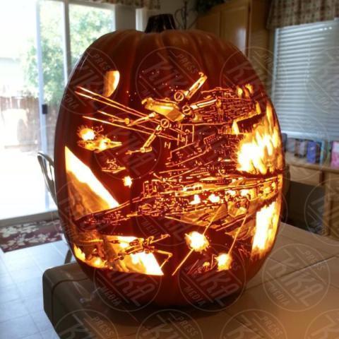 Alex Wer, Star Wars - 20-10-2017 - Alex Wer, il mago delle zucche intagliate di Halloween!