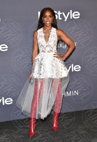 Kelly Rowland - Los Angeles - 23-10-2017 - Chi lo indossa meglio? Elsa Hosk e Kelly Rowland in Fendi
