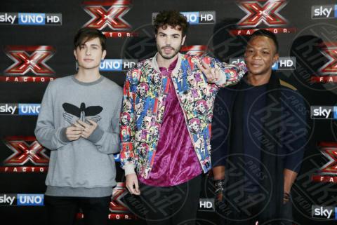 Lorenzo Bonamano, Samuel Storm, Gabriele Esposito - Milano - 24-10-2017 - X-Factor 11: ecco chi è il primo eliminato
