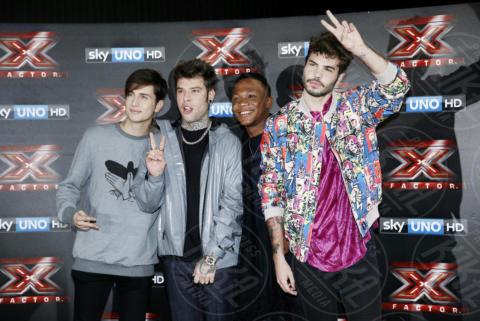 Lorenzo Bonamano, Samuel Storm, Gabriele Esposito, Fedez - Milano - 24-10-2017 - X-Factor 11: ecco chi è il primo eliminato