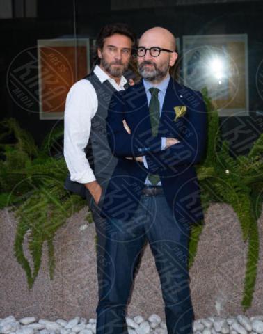 Donato Carrisi, Alessio Boni - Roma - 24-10-2017 - La Ragazza nella Nebbia, a Roma è il giorno di Jean Reno