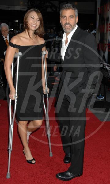 Sarah Larson, George Clooney - New York - 24-09-2007 - Talia Balsam: ma che hai fatto a George Clooney?