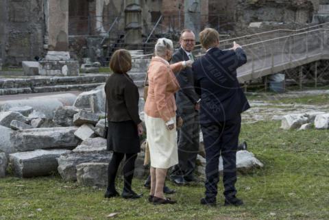 Regina Margherita di Danimarca - Roma - 26-10-2017 - Margherita II di Danimarca a Roma, una Regina al Foro di Cesare