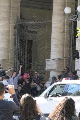 Cast, Miguel Angel Silvestre, Comparse, Set - Napoli - 26-10-2017 - Sense8, è Napoli la città dove si gira il finale della serie