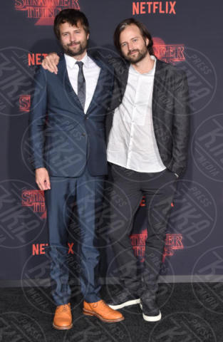 Ross Duffer, Matt Duffer - Westwood - 27-10-2017 - Stranger Things atto secondo: la premiere hollywoodiana
