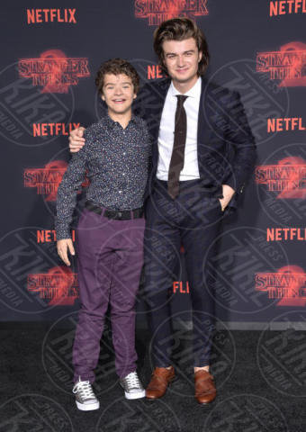 Joe Keery, Gaten Matarazzo - Westwood - 27-10-2017 - Stranger Things atto secondo: la premiere hollywoodiana